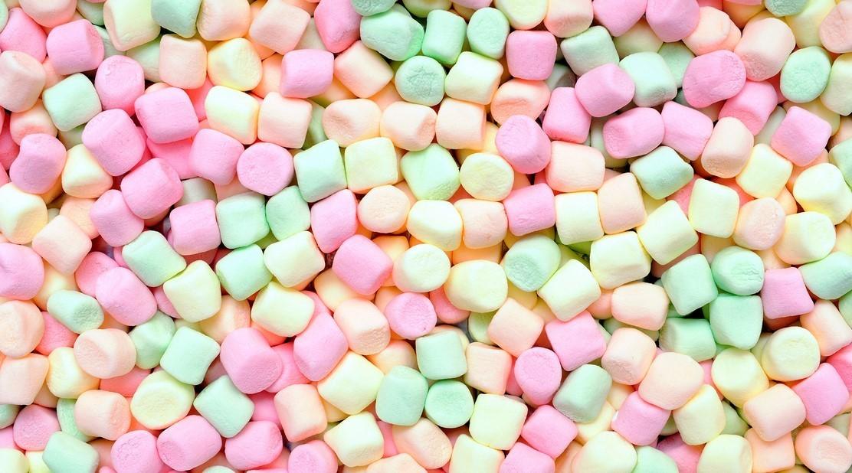 Маршмеллоу разноцветные