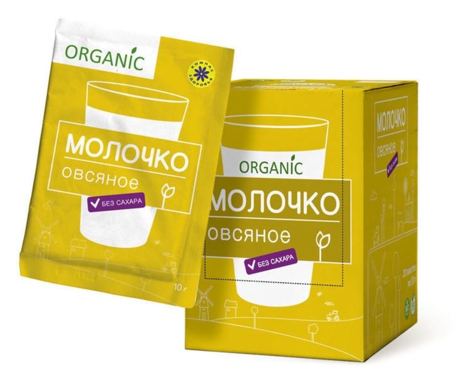 Порошок Organic овсяное молочко