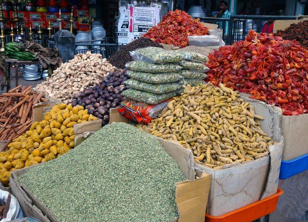 Специи рынок Индия
