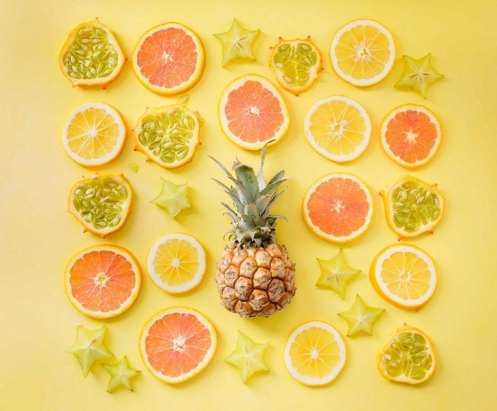 С чем сочетается фрукт карамбола