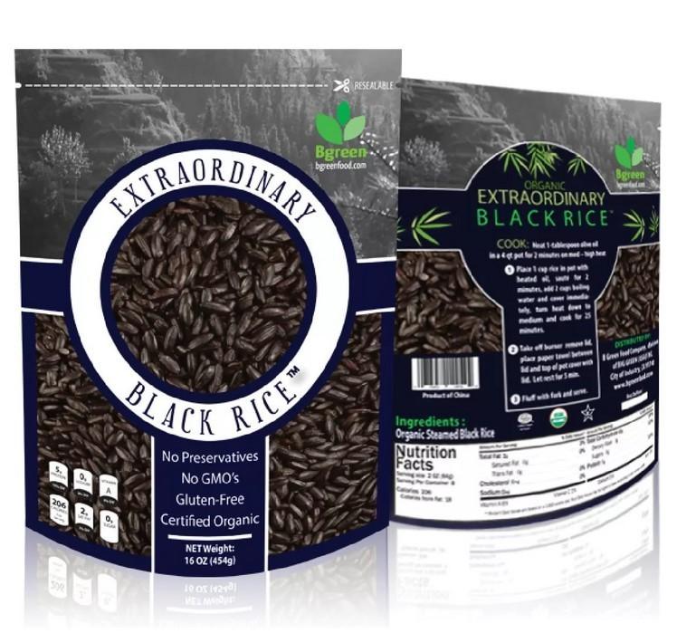 Bgreen черный рис