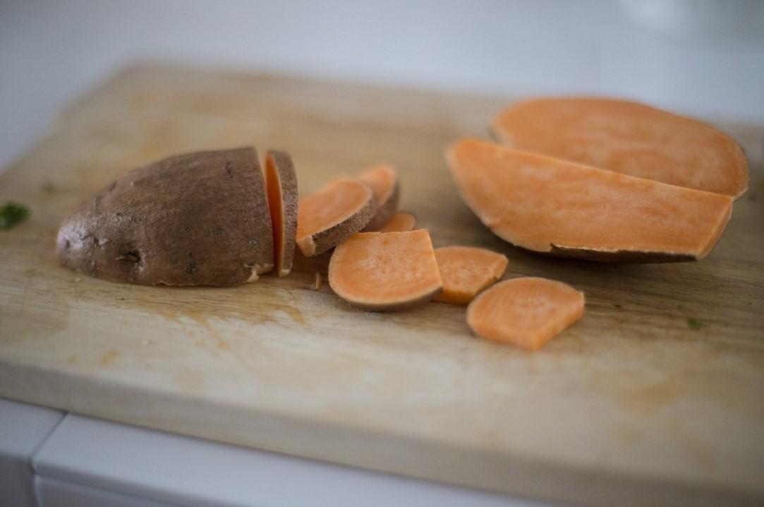 Мякоть сладкого картофеля