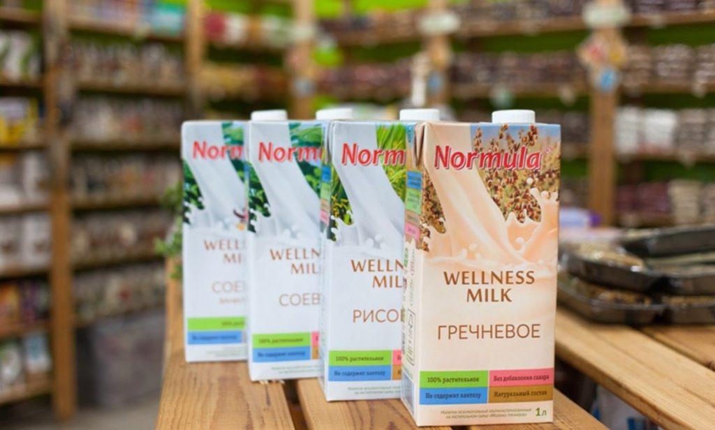 Normula гречневое молоко