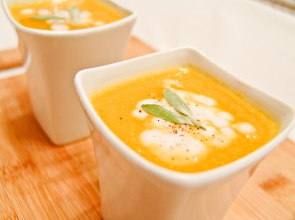 Суп с кумкватом и тыквой