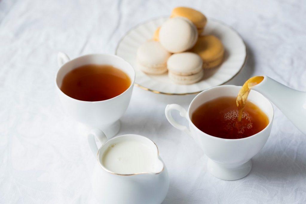 Чай с миндальным молоком