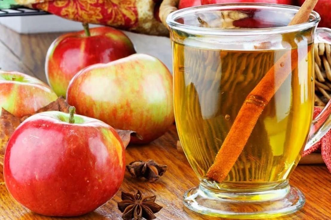 Комбуча с яблоком и корицей как готовить