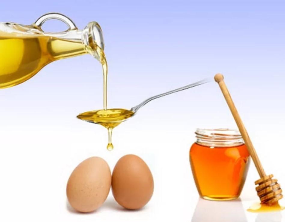 Ингредиенты для маски с хлопковым маслом