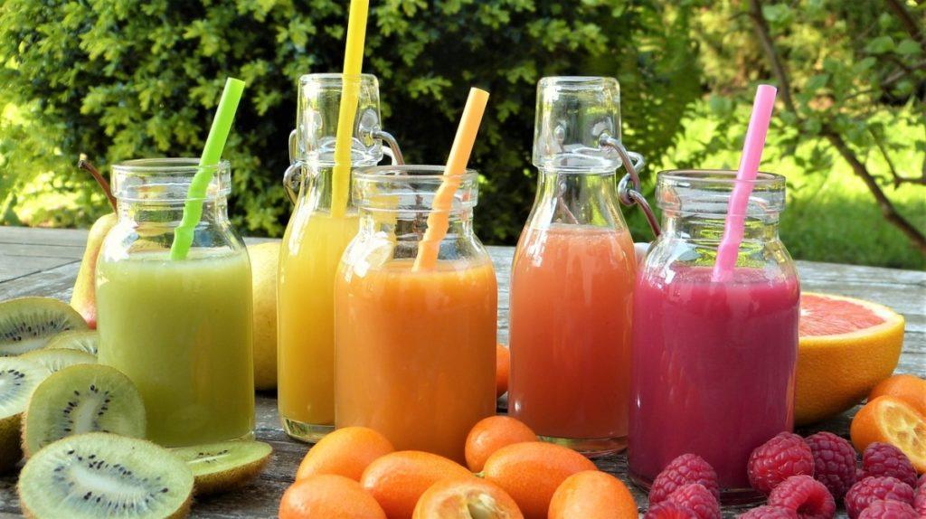 Смузи из ягод, овощей и фруктов