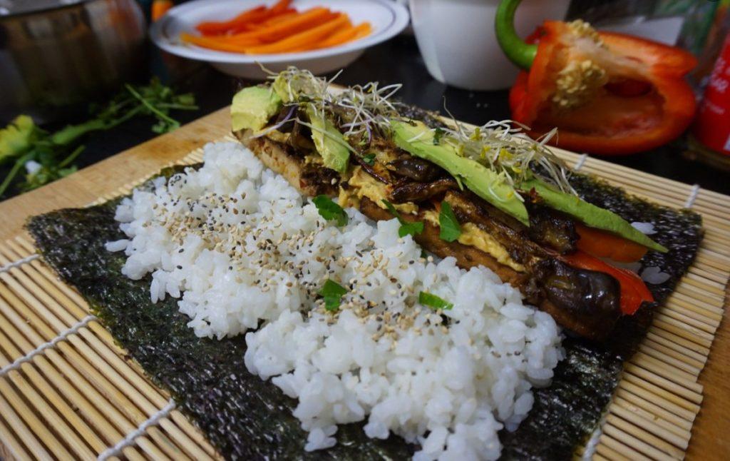 Rolli s tofu
