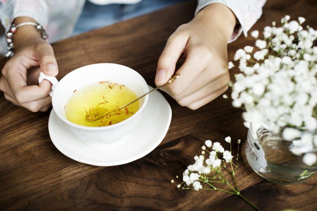 Чай с крокусом