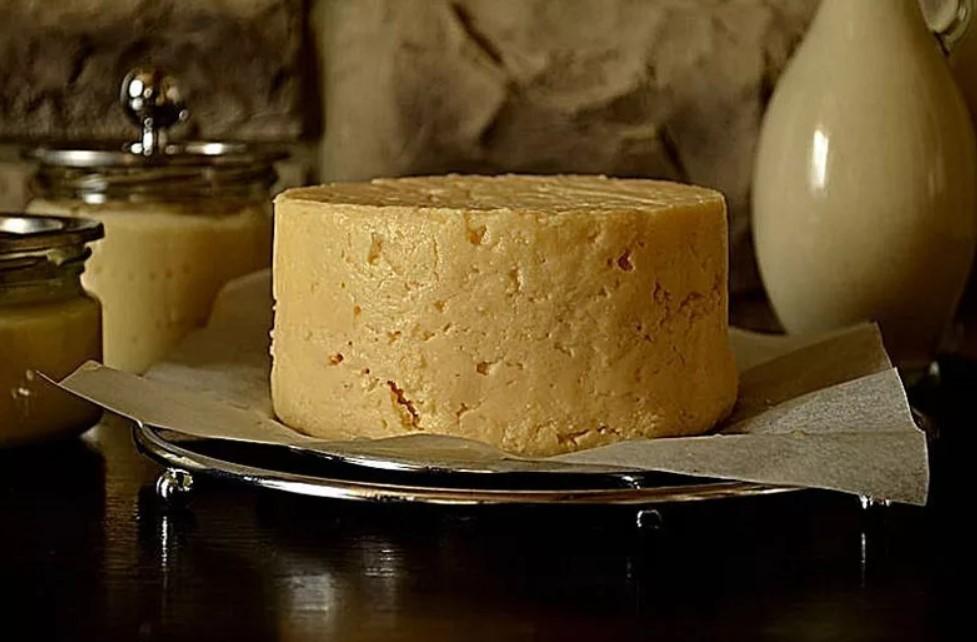 Сыр из нутовой муки