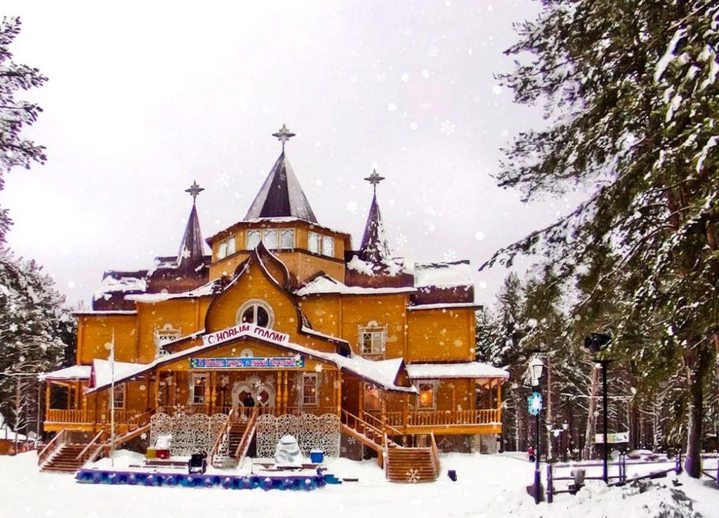 Резиденция Дедушки Мороза в Великом Устюге